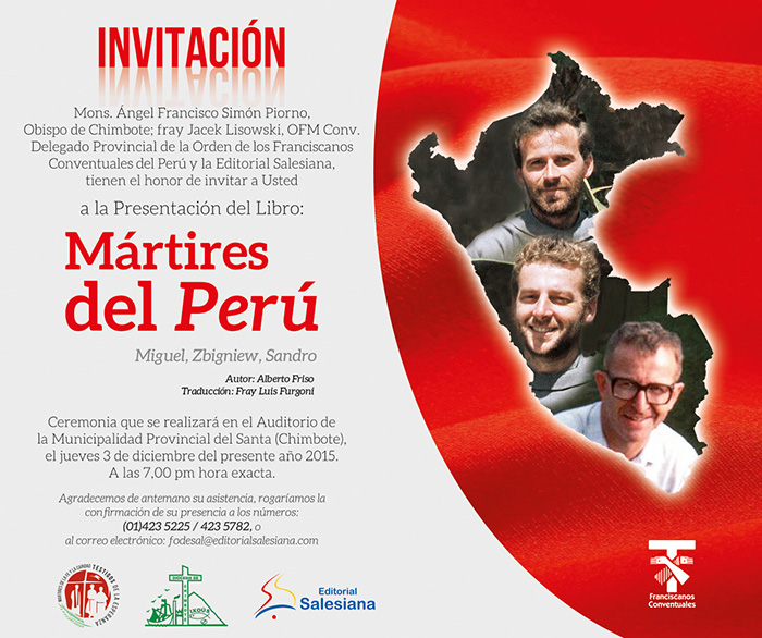Invitacion virtual Martires